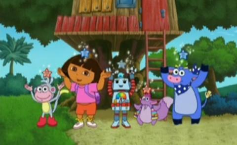 Dora – Roberto de robot